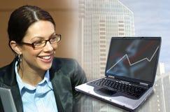 Commercio e tecnologia fotografia stock