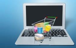 Commercio elettronico fotografie stock