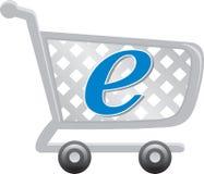 Commercio elettronico Fotografie Stock Libere da Diritti