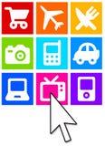 Commercio elettronico Fotografia Stock