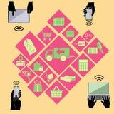 Commercio elettronico 2 Immagini Stock Libere da Diritti