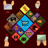Commercio elettronico 2 Fotografie Stock Libere da Diritti