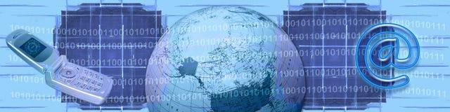 Commercio elettronico e tecnologia di WW Immagini Stock Libere da Diritti