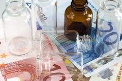 Commercio farmaceutico Fotografia Stock Libera da Diritti