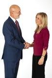 Commercio - fiducia d'ispirazione Fotografie Stock