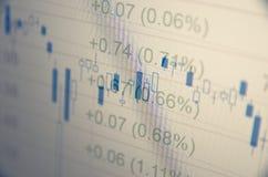 commercio finanziario Fotografia Stock