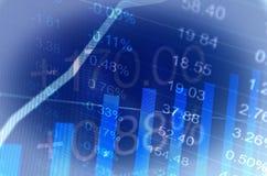 commercio finanziario Fotografia Stock Libera da Diritti