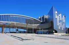 Commercio giusto e centro congressi di Malaga, Spagna Immagini Stock Libere da Diritti
