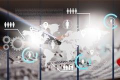 Commercio globale Fotografia Stock Libera da Diritti