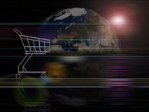 Commercio globale di serie della priorità bassa Immagini Stock Libere da Diritti