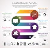 Commercio Infographics Fotografia Stock Libera da Diritti