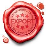 Commercio internazionale dell'esportazione Fotografie Stock Libere da Diritti