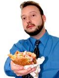Commercio: Intervallo di pranzo (3 di 4) Immagini Stock Libere da Diritti