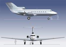 Commercio-jet di vettore Fotografia Stock
