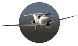 Commercio-jet di vettore Fotografie Stock Libere da Diritti