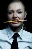 Commercio nero Fotografie Stock Libere da Diritti