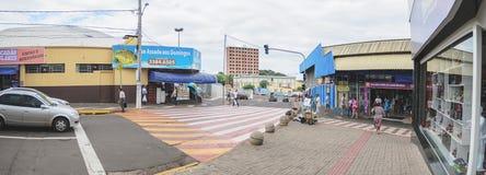 Commercio popolare locale del ms grande del campo, il Mercadao Municipa Immagini Stock Libere da Diritti