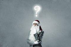 Commercio Santa Fotografia Stock Libera da Diritti