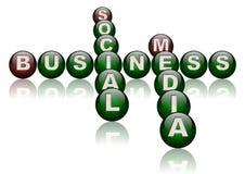 Commercio sociale di media illustrazione di stock