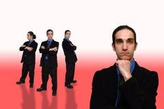 Commercio team-27 Fotografie Stock