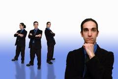 Commercio team-29 Immagine Stock