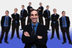 Commercio team-5 Immagini Stock