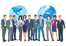 Commercio in tutto il mondo Immagine Stock