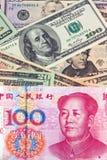 Commercio yuan della Cina Fotografia Stock Libera da Diritti