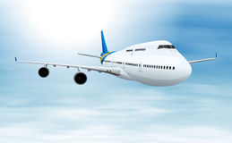 Commerical aircraft Stock Image