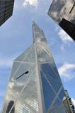 Commerical buildings - Bank of China. Bank of China in Hong Kong, Central Stock Photo