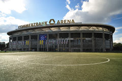 Commerzbank Arena Stadium in Frankfurt Stock Photography