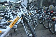Commerzbank bike imagen de archivo libre de regalías