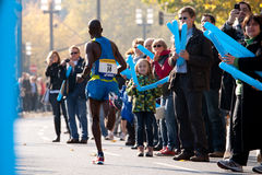 Commerzbank Frankfurt Marathon 2010 Stock Photos