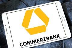 Commerzbank logo Obrazy Royalty Free