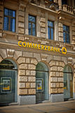 Commerzbank logo royalty free stock photo