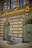 Commerzbank logo Stock Image