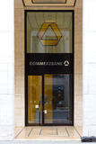 Commerzbank office on Friedrichstrasse Royalty Free Stock Images