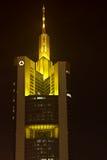 Commerzbank ragen in Frankfurt, Deutschland hoch Stockfoto