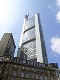 Commerzbank ragen in Frankfurt am Main hoch Stockbild