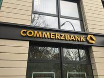 Commerzbank rozgałęzia się Obrazy Royalty Free