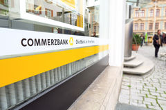 Commerzbank sottrae Fotografie Stock