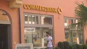 Commerzbank stock video