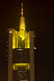 Commerzbank Tower in Frankfurt, Germany Stock Photo
