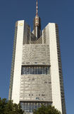 The Commerzbank tower Royalty Free Stock Images