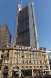 The Commerzbank tower Royalty Free Stock Photography