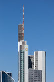 Commerzbank Tower in Frankfurt Main Stock Images