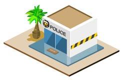 Commissariat de police Photo stock