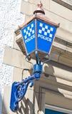 Commissariat de police Photographie stock