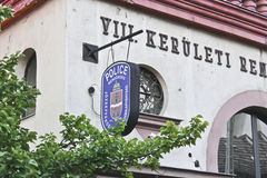 Commissariato di polizia a Budapest Fotografia Stock