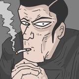 Commissario del fumo Fotografia Stock